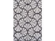 Dalyn FN202PE8X10 8 ft. 2 in. x 10 ft. Finesse Pewter Area Rug