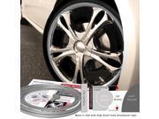 Wheel Bands WBRSSL Standard Silver Kit With Silver Insert