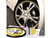 Wheel Bands WBRBYL Standard Black Kit With Yellow Insert