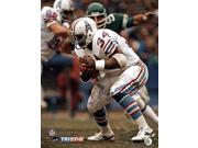Tristar Productions I0004875 Earl Campbell Autographed Houston Oilers 16x20 Photo Inscribed HOF 91