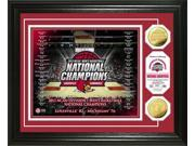 Highland Mint PHOTO5589K University of Louisville 2013 NCAA Basketball National Champions Gold Coin Photo Mint