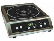 Aervoe Industries 6530 Athena Brands 6530 ProChef-3000 Induction Cooktop - 3000 Watts, 220V, Stainless