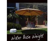 EasyGo Umbrella-base-white Offset Umbrella Base Stand Weight, White