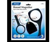 Bazic Products 2707-12 BAZIC 2x Magnifier Sets - 3-Pack Case of 12