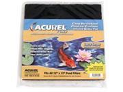 Loving Pets Corp - Pond 2555 Loving Pets Corp-Pond-Acurel Carbon Infused Media Pad 12x12 Inch