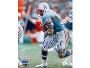 Tristar Productions I0021001 Earl Campbell Autographed Houston Oilers 8X10 Photo Inscribed Hof 91