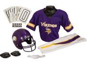 Franklin IF-FRA-15701F07-Y2 Minnesota Vikings Deluxe Youth Uniform Set - Medium