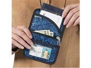 Talus ST-S5005-06BPRBLU Boarding pass holder blue batik