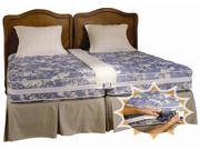Create a King Bed-combine TWO Twin Beds Into a Secure Comfortable King Size Bed