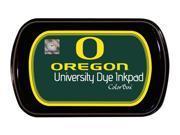 Clearsnap School College University of Oregon Colorbox Dye Inkpad Green