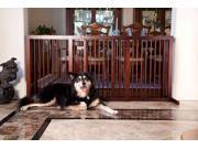 Primetime Petz Household Wooden furniture Pet Safety Foldable Slide Gate Large