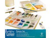 Winsor & Newton Art Craft Painting Watercolor Palette 10-Color Set