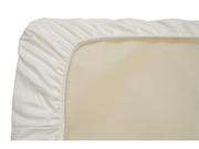 Naturepedic Organic Cotton White Easy Fit Jersey Crib Sheet- 3 pack