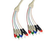 Cable Wholesale 5-RCA Video/Audio Component Mini Cable - 6 ft