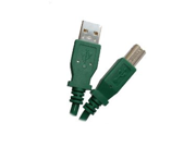 GREEN - USB 2.0 Compliant A to B, 6 feet - High Speed USB Cable