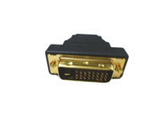 DVI-D Dual Link Male to HDMI Female Adapter - Adapts DVI to HDMI - Vice Versa