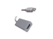 Mini DisplayPort (for Apple) to HDMI Female Adapter - 6 Inches