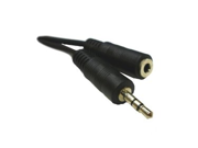 3.5 MM (1/8) Stereo Cable Male to Female 6 Feet