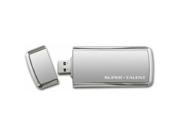 Super Talent 256 GB SuperCrypt USB 3.0 Plug and Play Flash Drive (ST3U56SCS-256GB) - Gray