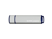 Super Talent 64GB USB 3.0 Express ST4 Flash Drive (ST3U64ST4M-64GB) - Gray