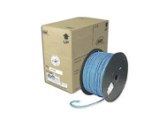 Ziotek CAT5e Solid Core Bulk Cable - 1000ft Blue
