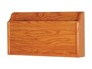 Wooden Mallet Wall Pocket X-Ray Holder Medium Oak