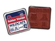 Clearsnap University of Arizona Sports Team  Logo Colorbox Stamp Set Red, Blue