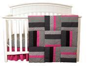 Serena - 3 Piece Crib Bedding Set