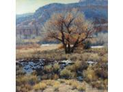 """FOV Editions Giclee Below Zion By Valoy Eaton - 20"""" X 20"""" Painting on Canvas Print - Unframed Modern Art Poster"""