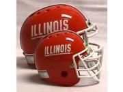 Riddell Illinois Fighting Illini Micro Helmet