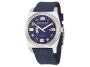 Locman Sport Stealth GMT Men's Quartz Watch 200BLKVL