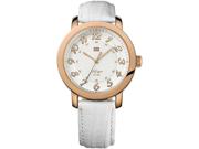 Tommy Hilfiger White Leather Ladies Watch 1781220