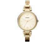 Fossil Georgia Glitz,Gold-tone Ladies Watch ES3227
