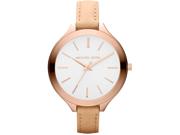 Michael Kors Mid-Size Runway Rose Gold-tone Stainless Steel Ladies Watch MK2284