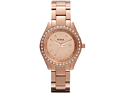Fossil Stella Mini Rose Gold-Tone Ladies Watch ES3196