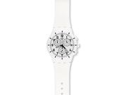 Swatch Originals Twice Again White Dial Chronograph Mens Watch SUSW402