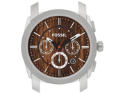 Fossil Machine Wood Print Chronograph Mens Watch Case C241000