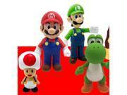 """Super Mario 5"""" Vinyl Figure Set Of 4"""