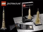 Lego Architecture Series Empire State Building New York Set 21002