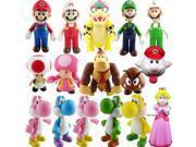 Super Mario Bros PVC Figure Collectors Set of 16 Asst B