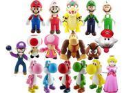 Super Mario Bros PVC Figure Collectors Set of 17