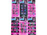 Monster High Liquid Sticker Set Of 6 Packs