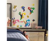 Super Mario Bros Peel And Stick 673SCS Wall Decal Set