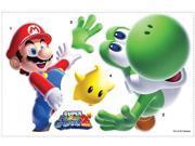 Super Mario Bros Giant Peel And Stick Wall Decal: Mario & Yoshi