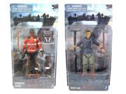 World War Z Zombie And Hero Figure Set Of 2