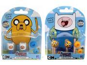 Adventure Time Earbuds Finn & Jake Set Of 2