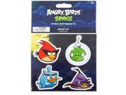 Angry Birds Space 4 Pack Flat Magnet Red, Purple, Ice, Pig Set A