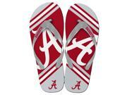 Alabama Crimson TIde Unisex Big Logo Flip Flops