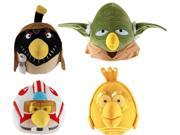 "Angry Birds Star Wars Wave 2 Plush 16"" Set Of 4"
