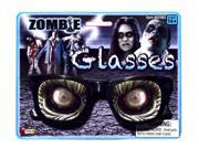 Zombie Glasses Costume Eyewear Accessory
